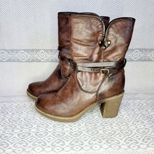 Booties wide ankle comfortable